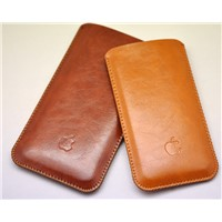 High Quality Microfiber Leather Slim Case for iPhone 6 4.7 6S Sleeve Case Bag