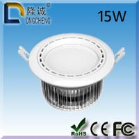 LED lights led downlight 15W SMD PMMA cover 2 years warranty