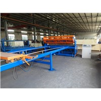 Welded wire mesh machine for panel