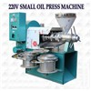 6YL80 soybean oil press machine delivery to Africa
