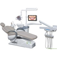 top-mounted dental chair | ergonomic dental chair MSLDU17 for sale