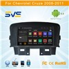 Android 4.4 car dvd player for CHEVROLET Cruze 2008-2011 withCar radio dvd gps navigation