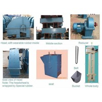 Grain Bucket chain conveyor design,rice mill bucket elevator