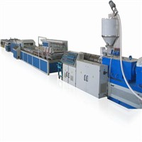 PVC WPC Crust Foamed Furniture Board Extrusion Machine