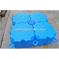 Blow Molding plastic floating pontoon
