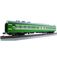 1:87 ho scale model train- passenger car