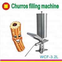 commercial nutella dispenser churro filler/wholesale churros making machine filler