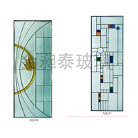 18-24mm thickness Laminated Stained glass patterns