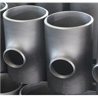ANSI B16.9 Reducing Tee Pipe Fittings