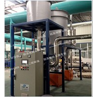Vacuum cleaning dust collector