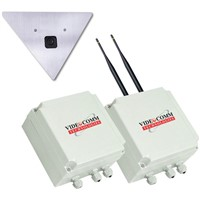 VideoComm Technologies All-Weather Video Network Bridge and Camera (2.4 GHz Frequency)