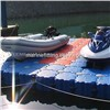 OEM plastic rotational floating pontoon