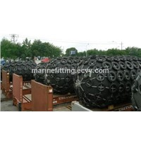 Marine dock pneumatic floating rubber fender