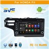 Android car dvd player for HONDA Fit 2014 with GPS navigation Russian Menu free 4GB Map