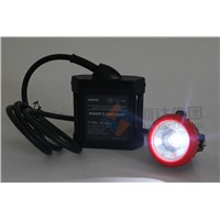 ATEX certified corded LED Miner's Cap Lamp mining hard hat light