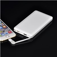 2016 Hot Selling Gift 4000mAh Credit Card Power Bank Made In China With High Quality