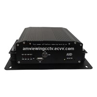 720P AHD DVR for vehicle,4 channel car dvr system support 4 cameras can be.GPS/Beidou,3G/4G WiFi