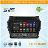 "8"" Android car dvd player for Hyundai IX45 Santafe 2012 2013 2014 car GPS navigation radio"