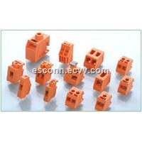 Orange Transformer Terminal Block Connector For Printed Circuit Board PCB