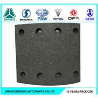 manufacture directly sale high quality semi trailer&trucks brake linings for STR front