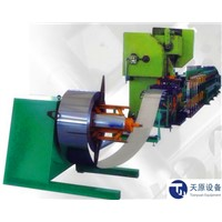 Fire Damper Roll Forming Machine With Blade roll forming machine