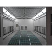 Shandong Tianyi CE high quality low price infrared heating spray booth TY-L70A