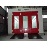 Tianyi spray booth factory/auto spray painting booth oven/body paint baking oven for sale