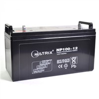 np100-12 12v 100ah vrla battery for solar system ups