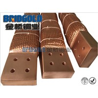 4500mm2 flexible electrical copper braided connectors Customization