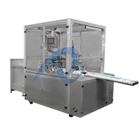 Automatic filling and capping machine for silicon sealant