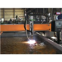 CNC underwater plasma cutting machine