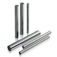 Chrome plated rods for hydraulic cylinder
