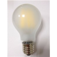Classic lamp A60 220V 8W led filament bulb frosted glass