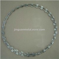 High quality concertina razor barbed wire/razor wire(manufacture)