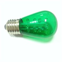 S14-16LED 120VAC LED star bulb light E27 holiday lighting green decorative