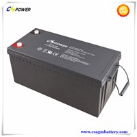 Solar Storage Deep Cycle VRLA Battery 12V200Ah