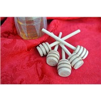 Wholesale Newborn Favour Child of Honey Dippers Wooden Honey Dipper for Baby Shower