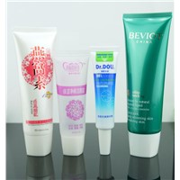 facial cream packaging squeeze plastic tube