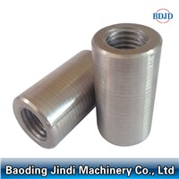 threaded reinforcing rebar splicing sleeve/ reinforcing rebar splicing coupler