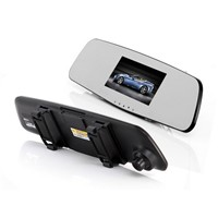 JADO D600 Rearview mirror car dvr , Top hot sell model , Car black box , Car DVR