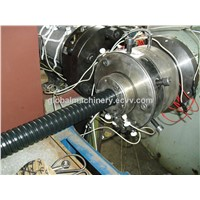 flexible stainless steel corrugated pipe pvc coated machine