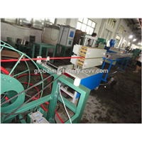 metal flexible hose pvc coated machine