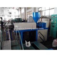 metal flexible corrurgated hose pvc coating machine