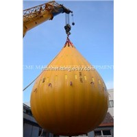 Load testing water bag for davit test weight