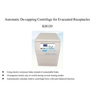 KH120-Automatic De-Capping Centrifuge for Blood Collection Tubes