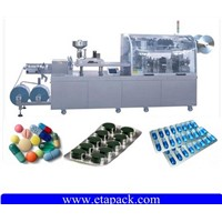 Aluminium plastic Alu-Alu blister packaging machine