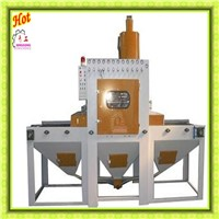 Concrete Blocks Through Type Abrator Shot Blasting Cleaning Machine