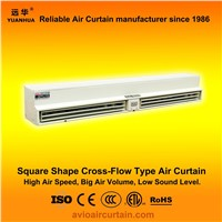 Square shape cross-flow air curtain (air door) FM-0.9-12