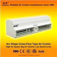 Arc shape cross-flow air curtain (air door) FM-1.5-09B