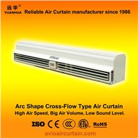 Arc shape cross-flow air curtain (air door) FM-1.25-12B